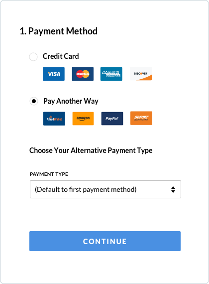 Allied Wallet's QuickPay Interface